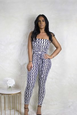 TIED UP JUMPSUIT