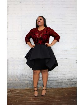 THE MARQUEE DRESS (PLUS SIZE)