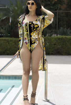 POOL SIDE SWIMWEAR AND COVER UP