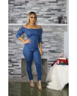 DANA DENIM JUMPSUIT