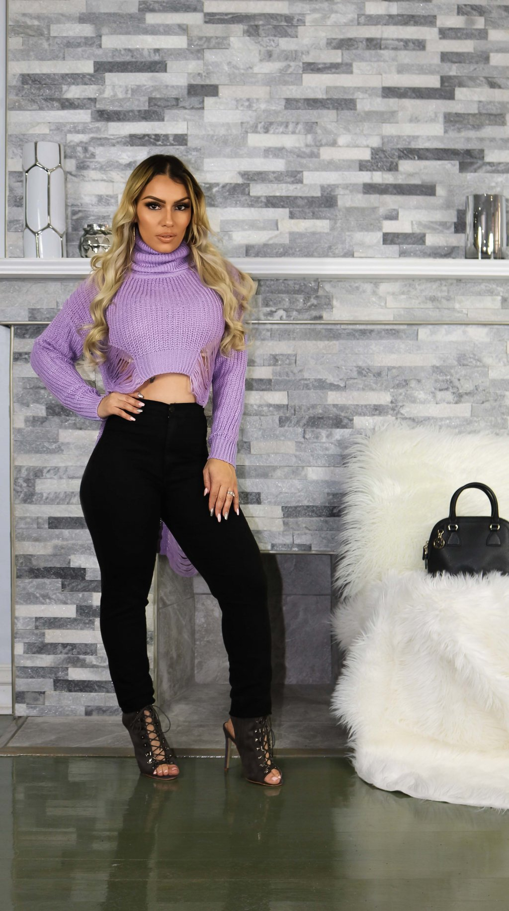 SHEEK SWEATER TOP
