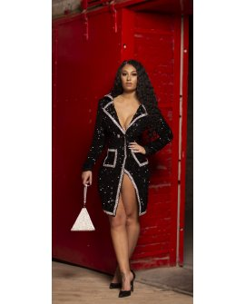 LUXURIES LIFE BLAZER DRESS