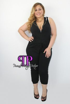 BAD TO THE BONE JUMPSUIT