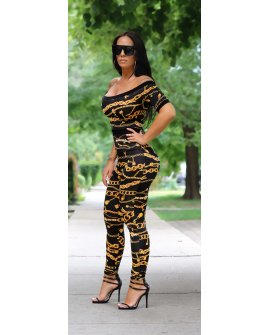 CHAINED UP JUMPSUIT