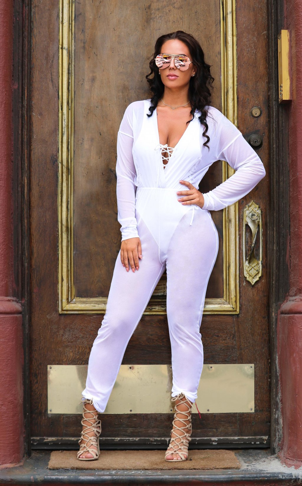 SEE THRU JUMPSUIT