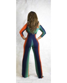 CRAZY COLOR  JUMPSUIT
