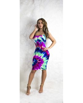 COLOR SPLASH DRESS
