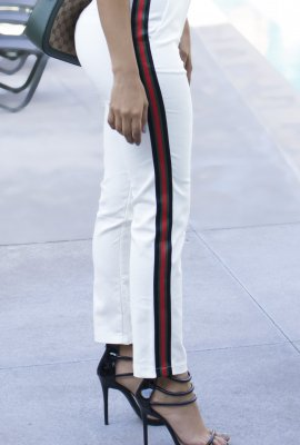 STRIPE IT RICH PANTS