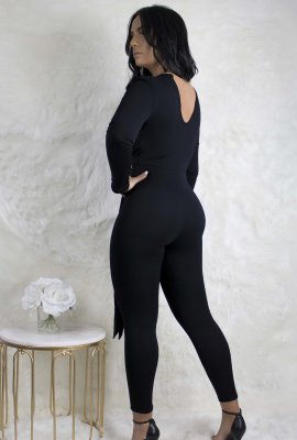 SIMPLE BUT SEXY JUMPSUIT