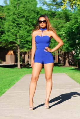 STAY IN LINE ROMPER (3 COLORS)